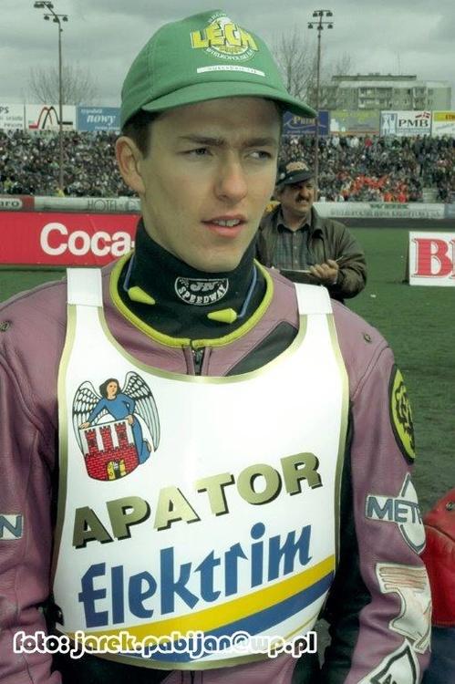 Tomasz Bajerski zdobył dla Apatora 4 punkty i bonus (3,1*,0,0)....
