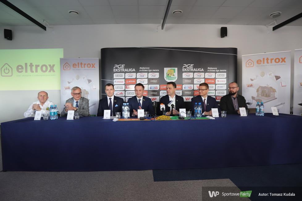 Konferencja prasowa Eltrox Włókniarz Częstochowa (galeria)