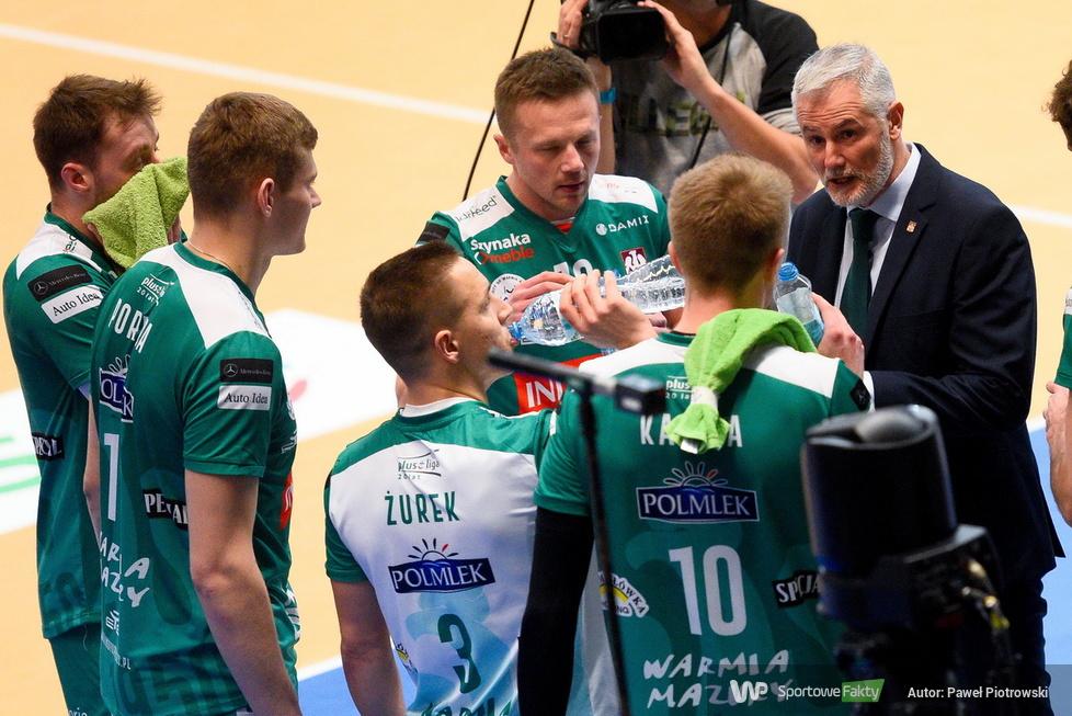 Puchar Polski w siatkówce: PGE Skra Bełchatów - Indykpol AZS Olsztyn 3:1 (galeria)