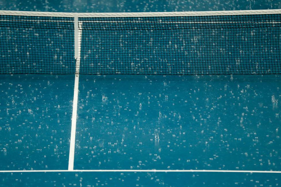 Australian Open 2020. Ulewa w Melbourne, mecze przełożone (galeria)
