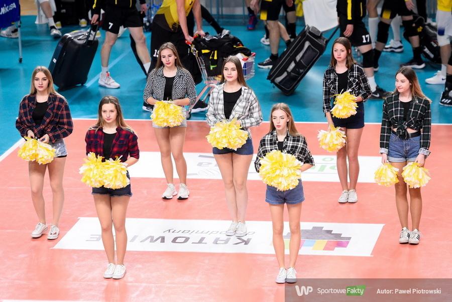 Cheerleaderki na meczu GKS Katowice - PGE Skra Bełchatów (galeria)