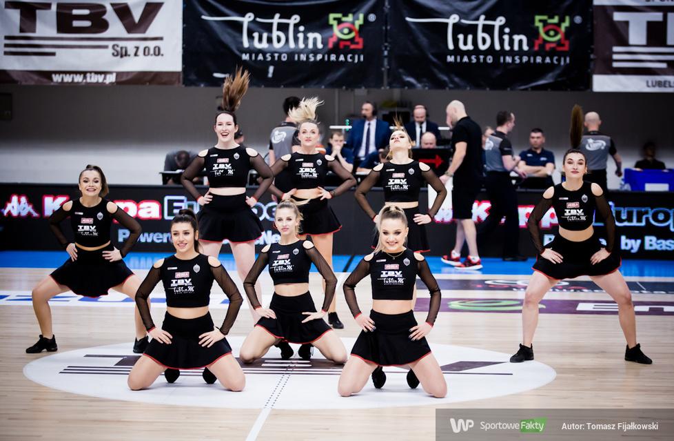 UDS Cheerleaders podczas meczu TBV Start Lublin Hydro Truck Radom 94:78 (galeria)