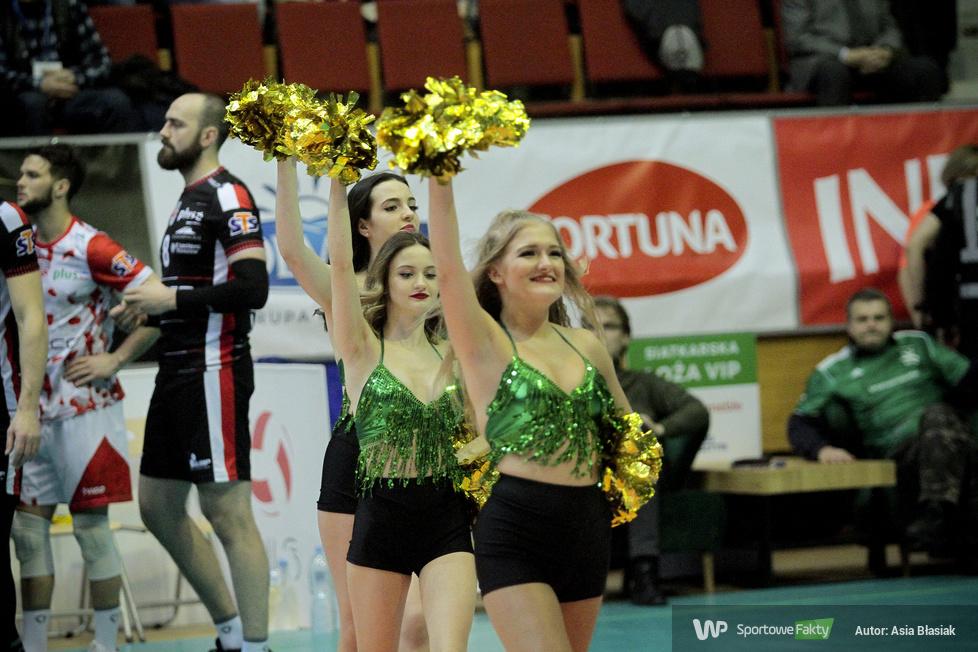 Soltare Cheerleaders podczas meczu Indykpol AZS Olsztyn - Asseco Resovia Rzeszów  (galeria)