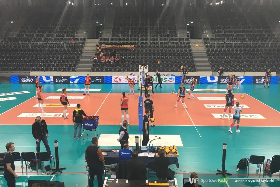 Liga Siatkówki Kobiet: Wisła Warszawa - Grupa Azoty Chemik Police 0:3 (galeria)