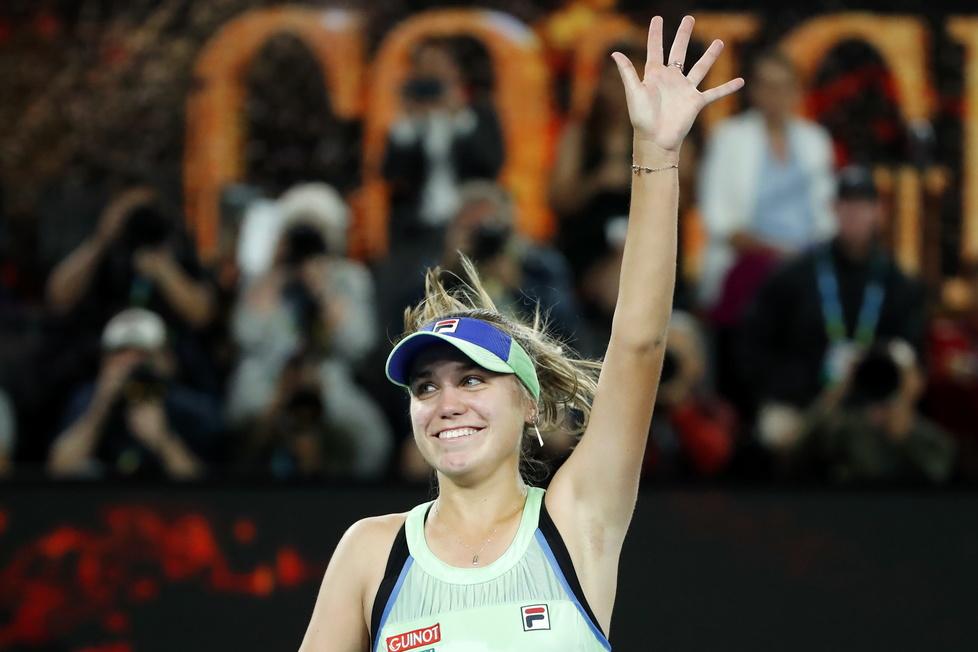 Tenis. Australian Open. Sofia Kenin nową mistrzynią w Melbourne (galeria)