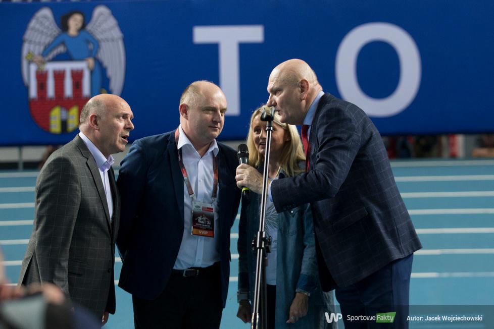 Na zdjęciu: Ceremonia otwarcie 6-go mityngu lekkoatletycznego Copernic...