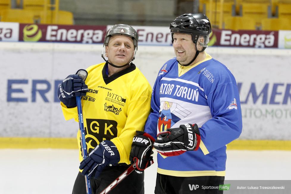 Mecz hokejowy żużlowców eWinner Apator Toruń - MrGarden GKM Grudziądz 6:4 (galeria)