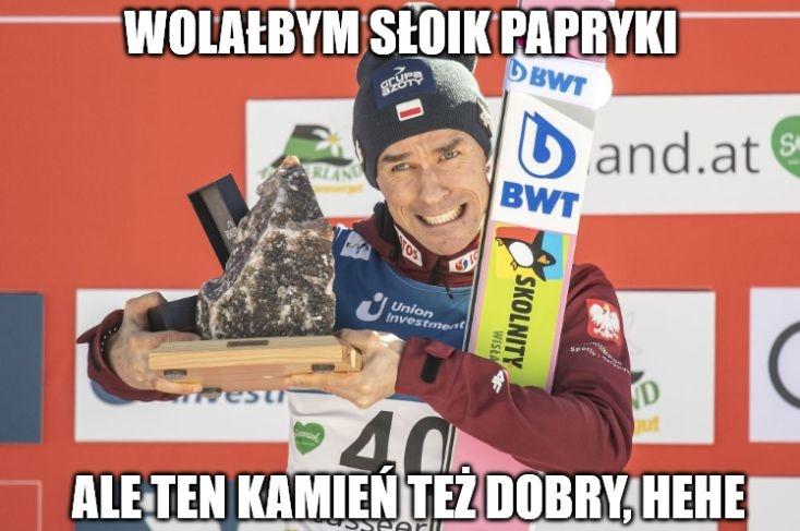 Skoki narciarskie. Puchar Świata w Bad Mitterndorf. Memy po zwycięstwie Piotra Żyły! (galeria)