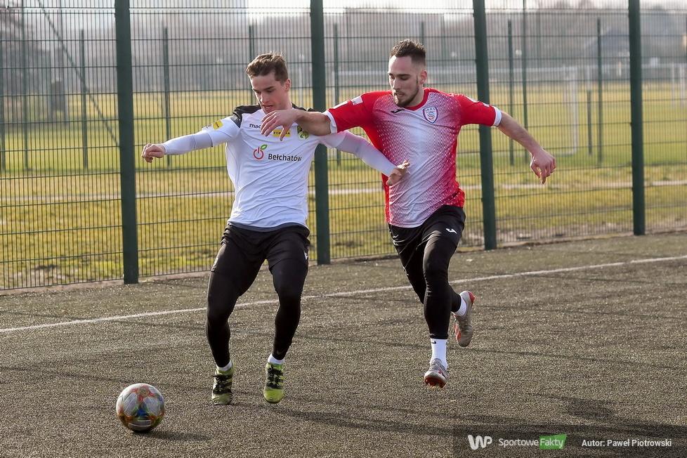 Fortuna 1 liga Sparing: GKS Bełchatów - Skra Częstochowa 0:0 (galeria)