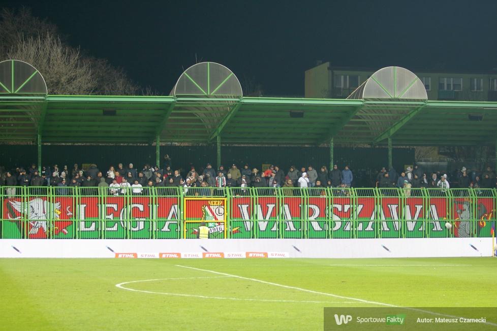 Kibice podczas meczu Raków Częstochowa - Legia Warszawa (galeria)