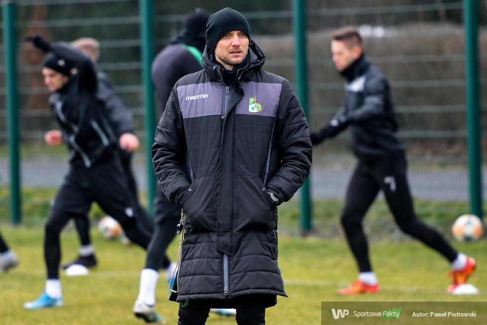 Fortuna 1. liga: ostatnie treningi GKS Bełchatów przed rundą wiosenną (galeria)