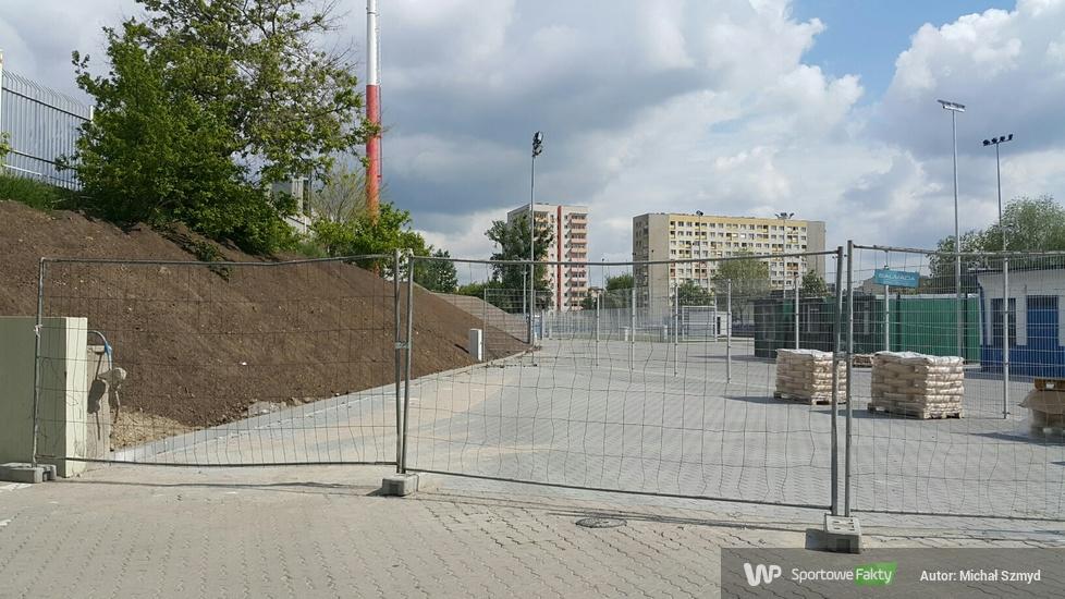 Żużel. Budowa nowej trybuny na stadionie Polonii Bydgoszcz (galeria)