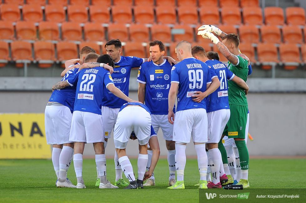 Fortuna 1 liga: Bruk-Bet Termalica Nieciecza - Wigry Suwałki 1:0 (galeria)