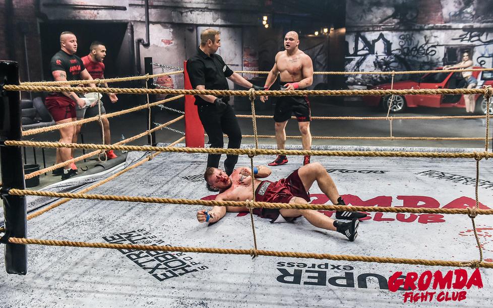 Zdjęcie: Mariusz Konfiszer / GROMDA Fight Club...