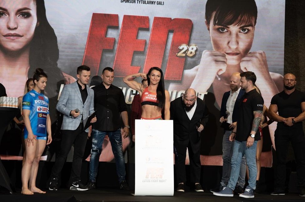 Ceremonia ważenia przed FEN 28: LOTOS Fight Night [GALERIA]