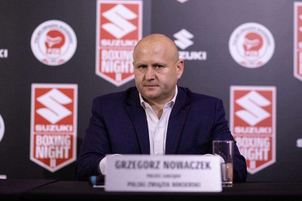 Boks. Suzuki Boxing Night II. Mateusz Masternak - Sergiej Radczenko: ceremonia ważenia (galeria)