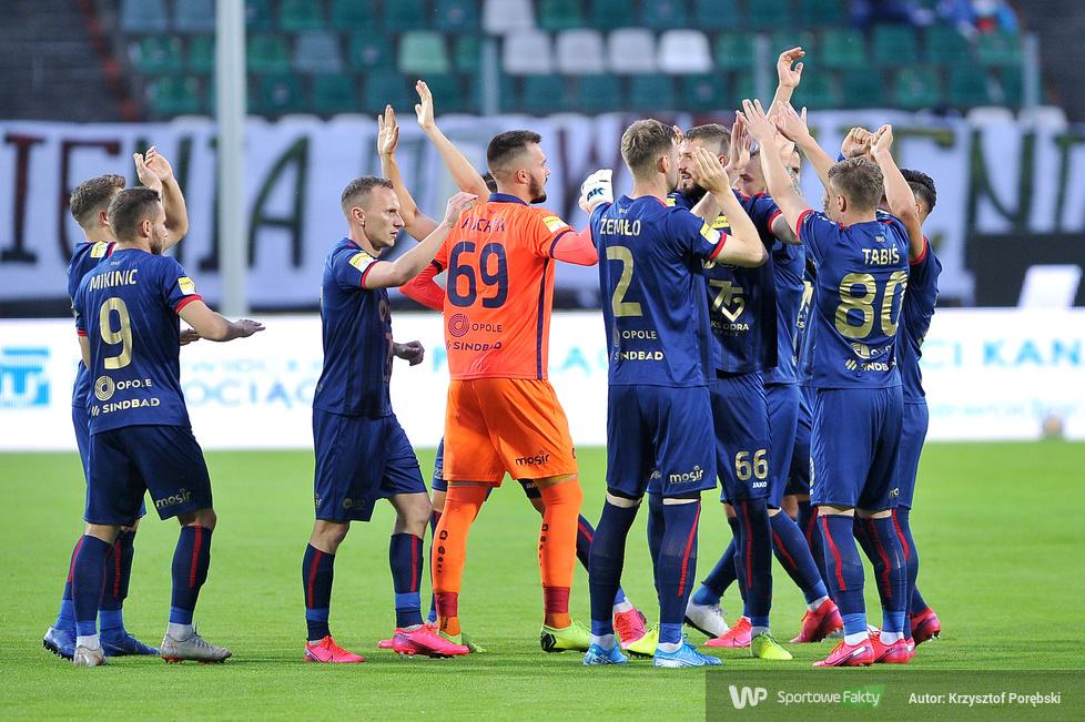 Fortuna 1. liga: Zagłębie Sosnowiec - Odra Opole 1:3 (galeria)