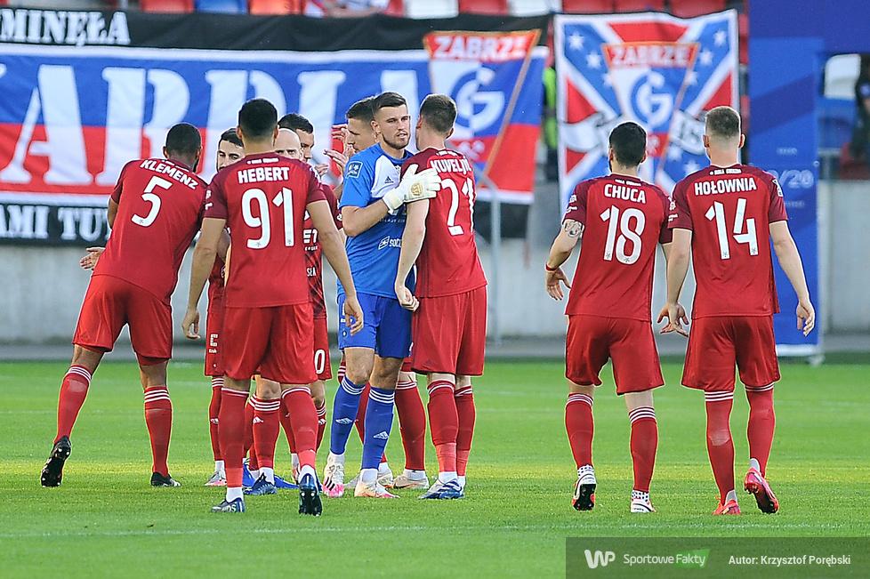 PKO Ekstraklasa. Górnik Zabrze - Wisła Kraków 0:1 (galeria)