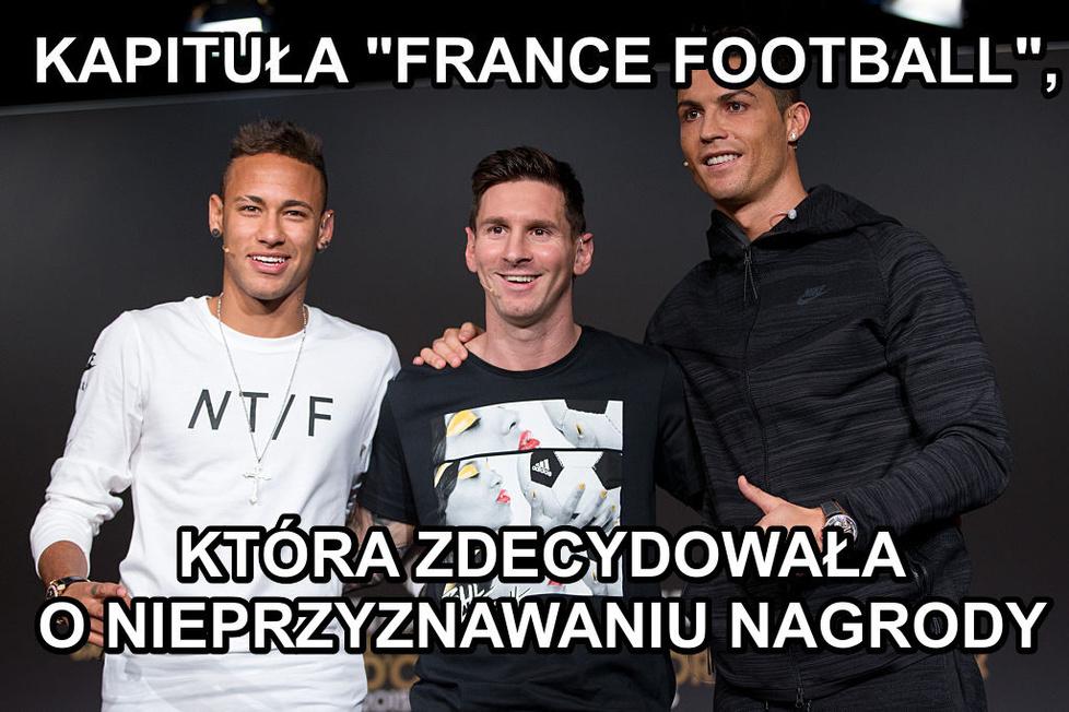Złota Piłka odwołana. Zobacz najlepsze memy.