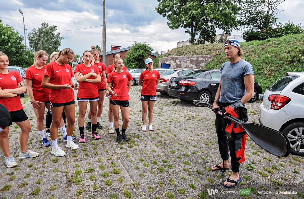 PGNiG Superliga Kobiet. Trening Startu na kajakach (galeria)
