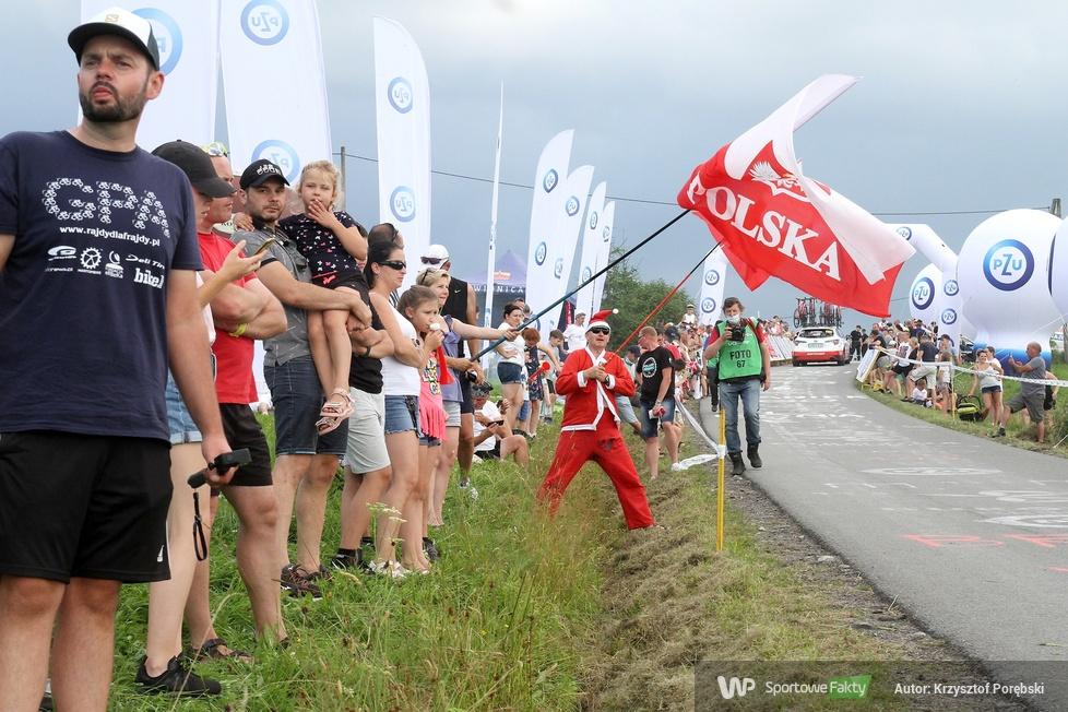 Kibice podczas 4. etapu 77. Tour de Pologne (galeria)