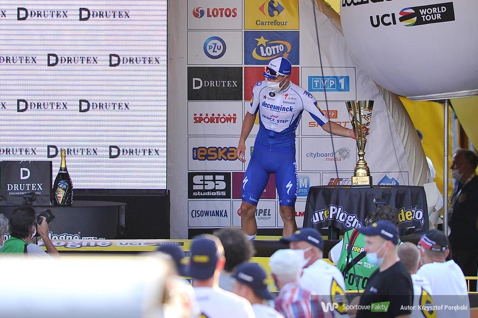 77. Tour de Pologne - dekoracja zwycięzców [GALERIA]