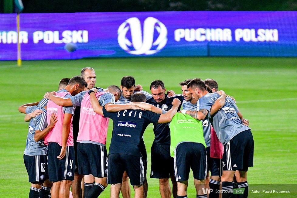 Fortuna Puchar Polski: GKS Bełchatów - Legia Warszawa 1:6 (galeria)