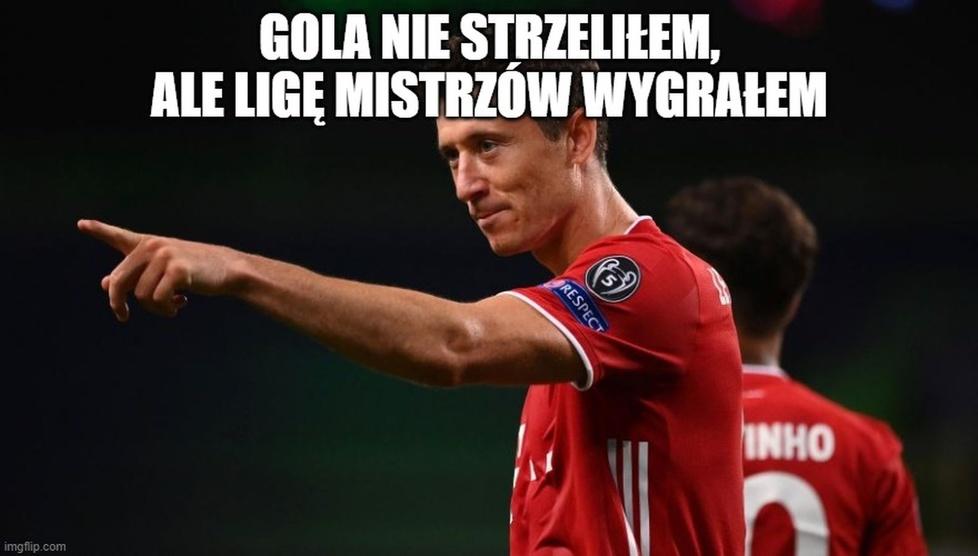 Liga Mistrzów. Memy po meczu PSG - Bayern. Robert Lewandowski na językach