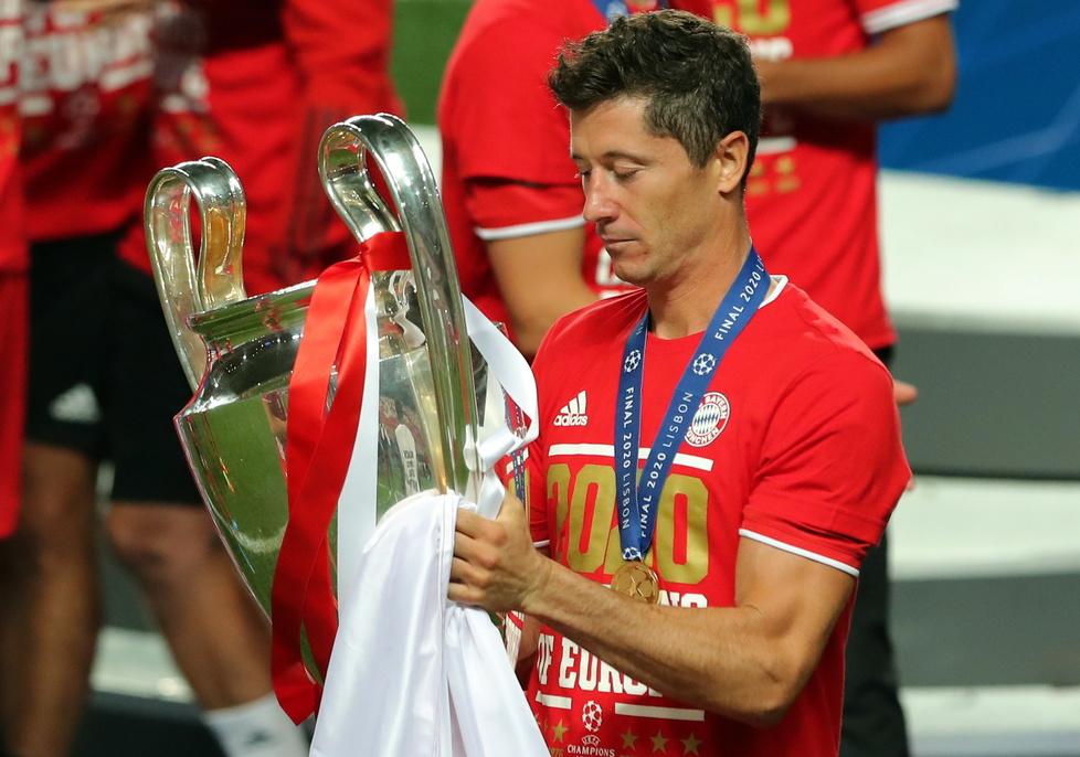 Liga Mistrzów. PSG - Bayern. Na ten moment Robert Lewandowski czekał całą karierę