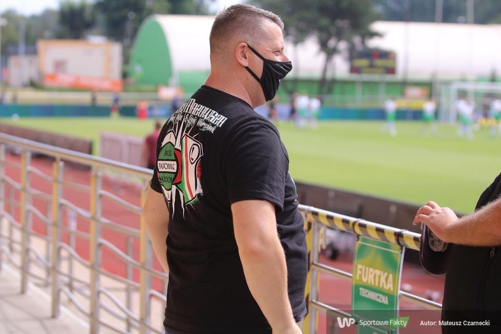 Fortuna 1 Liga: Kibice podczas meczu Radomiak Radom - Widzew Łódź  [GALERIA]