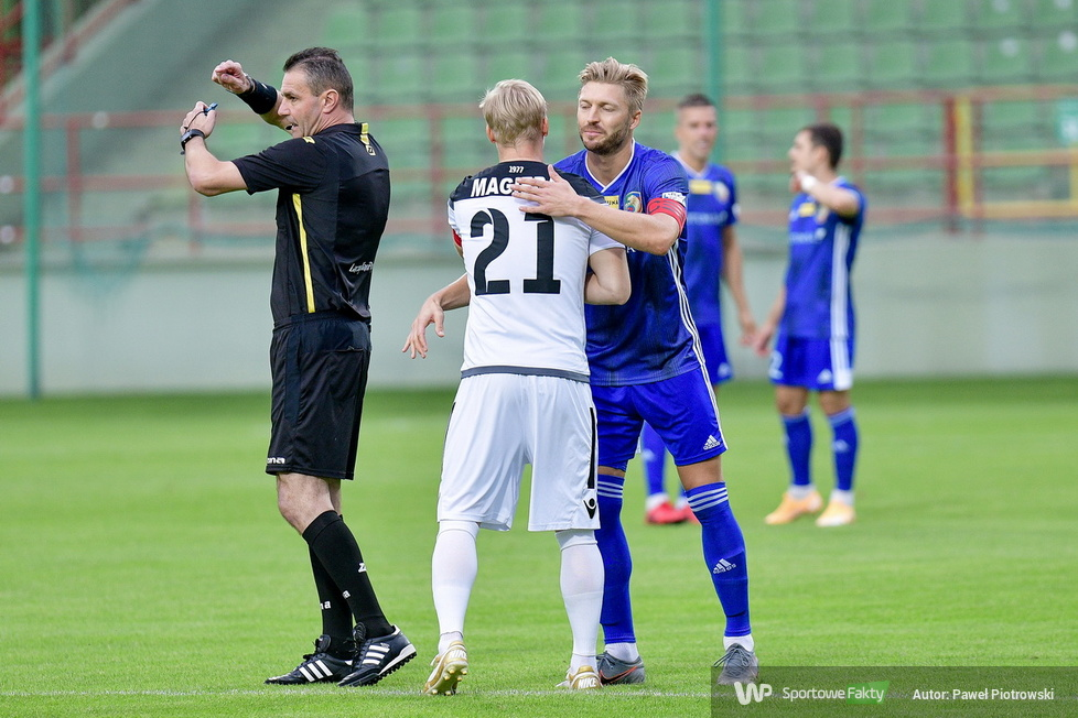 Fortuna 1 liga: GKS Bełchatów - Miedź Legnica 1:0 (galeria)