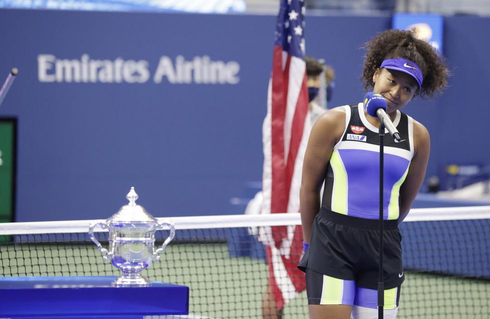 Tenis. Naomi Osaka mistrzynią US Open 2020. Ceremonia dekoracji (galeria)