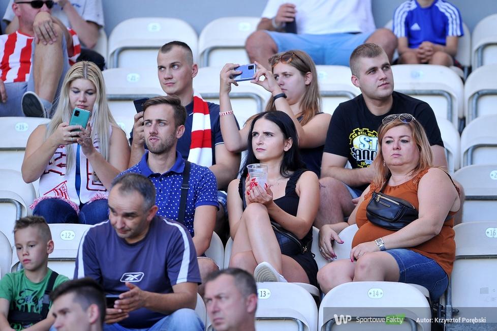 PKO Ekstraklasa. Kibice podczas meczu Cracovia - PGE FKS Stal Mielec [GALERIA]