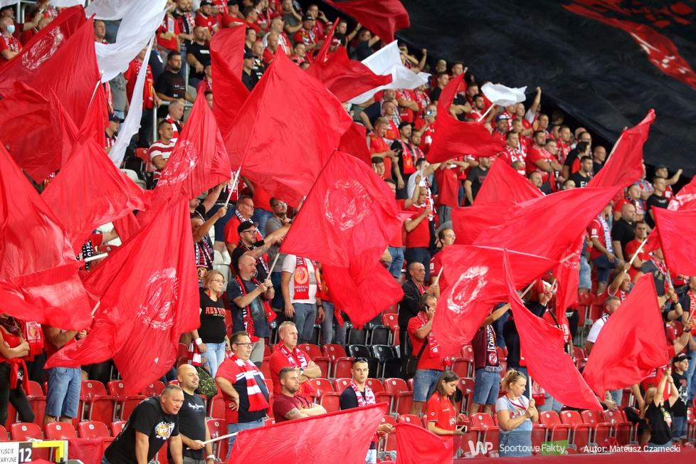 Fortuna 1 Liga: Kibice podczas meczu Widzew Łódź - ŁKS Łódź  [GALERIA]