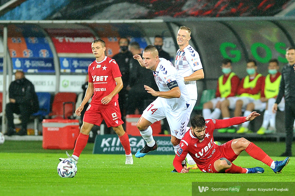 PKO Ekstraklasa. Górnik Zabrze - Wisła Kraków 0:0 [GALERIA]
