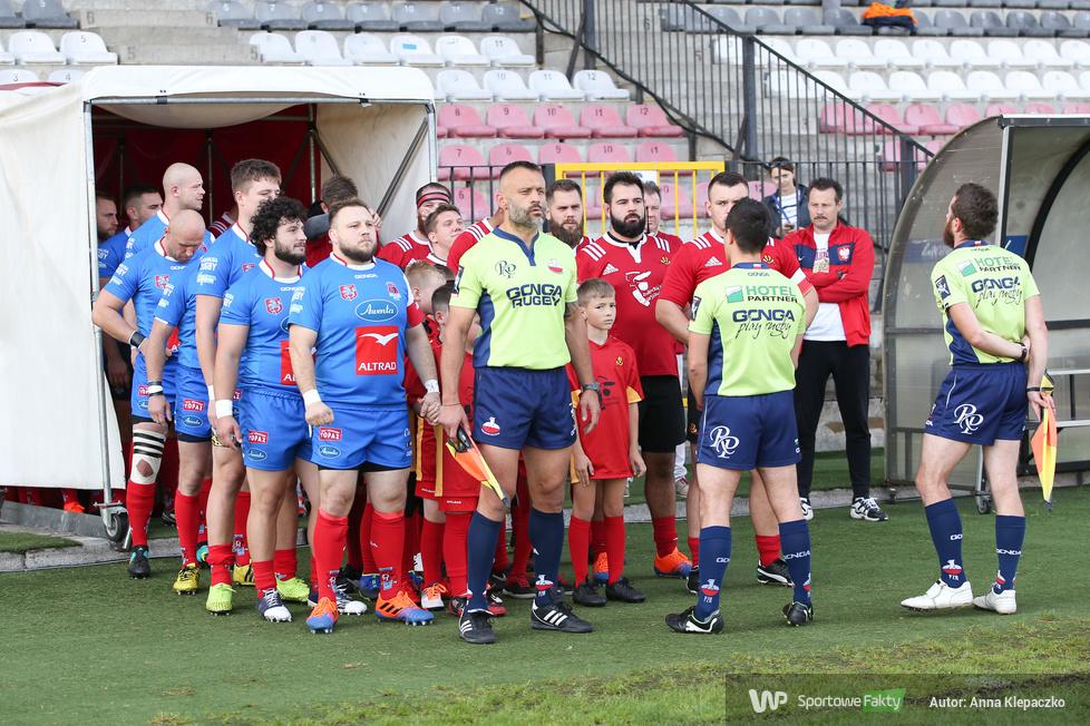 Ekstraliga rugby: OSK Skra Warszawa - Awenta Pogoń Siedlce 27:20 (galeria)