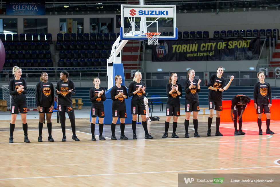 Energa Basket Liga Kobiet. Energa Toruń - CCC Polkowice 30:92 (galeria)