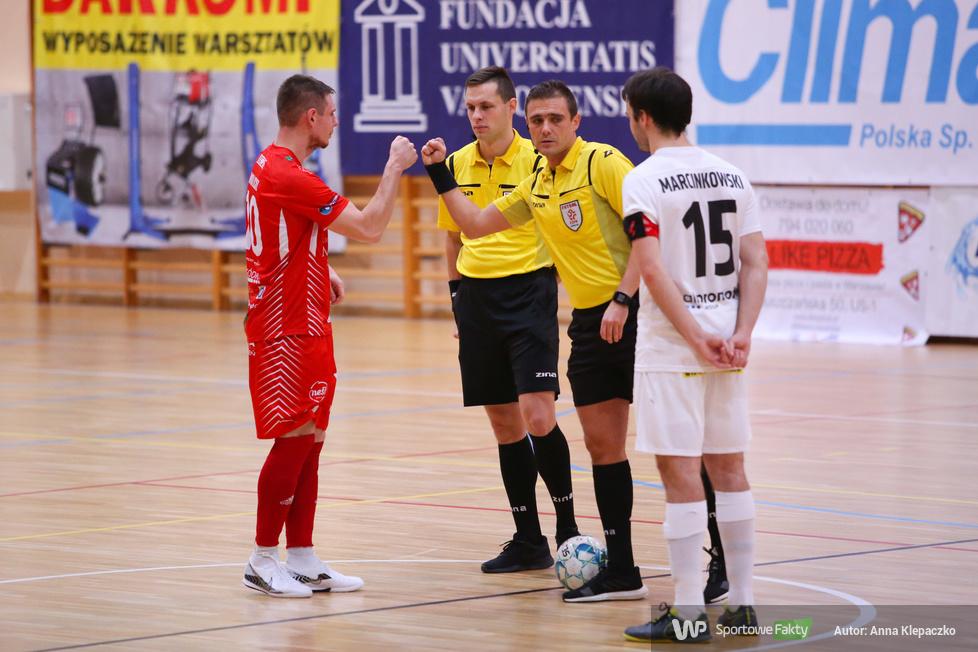 Futsal: AZS UW Wilanów - GI Malepszy Futsal Leszno 2:2 [GALERIA]