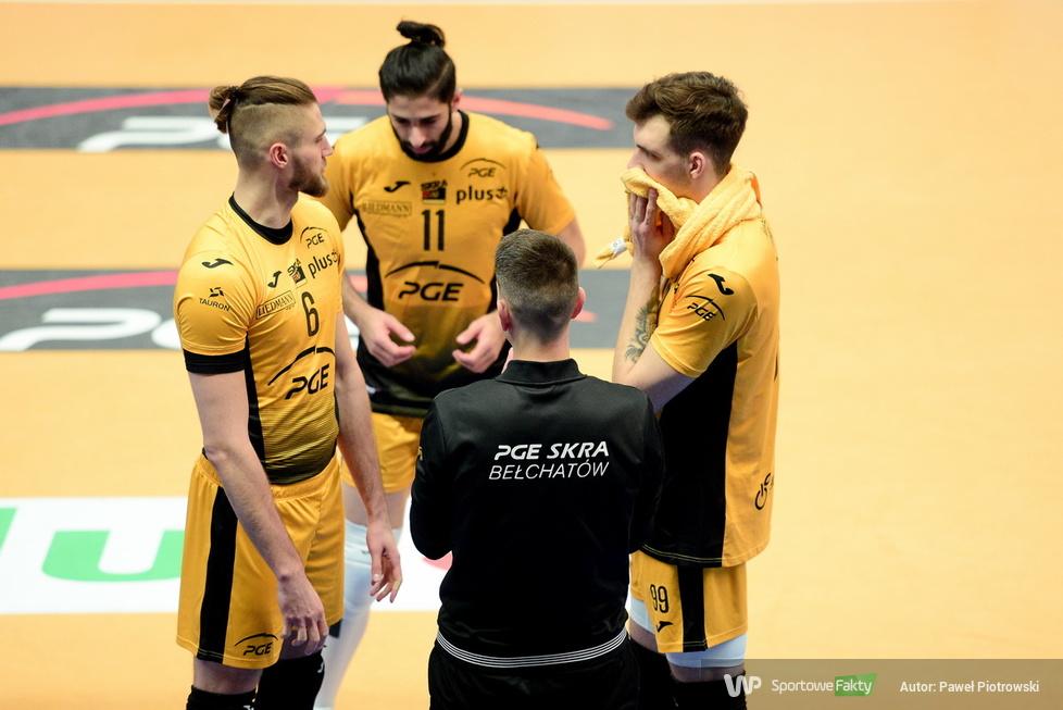 Plusliga 2020/21: PGE Skra Bełchatów - GKS Katowice 3:1 (galeria)