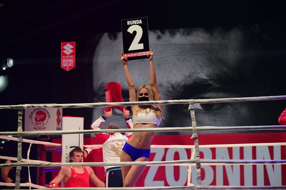 Ring girls gali Suzuki Boxing Night IV (galeria)