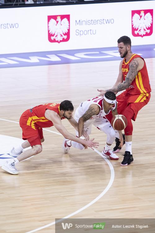 Eliminacje Eurobasket 2022: Polska - Hiszpania 88:89 (galeria)