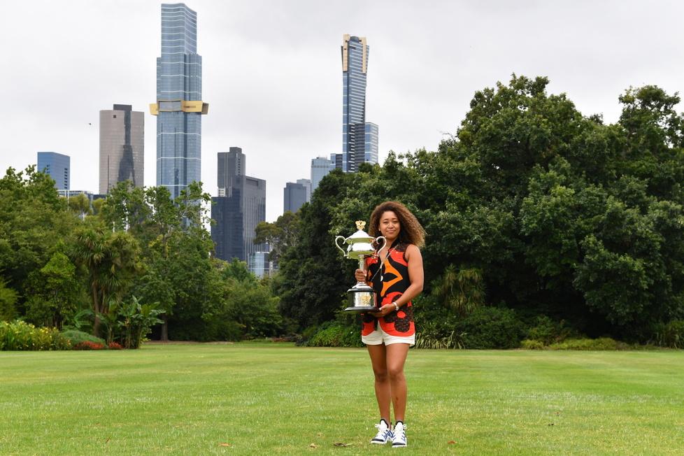 Naomi Osaka mistrzynią Australian Open 2021. Sesja zdjęciowa Japonki w Melbourne (galeria)