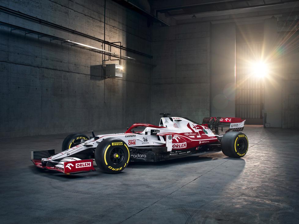 F1. Alfa Romeo C41. Nowy bolid Roberta Kubicy [GALERIA]