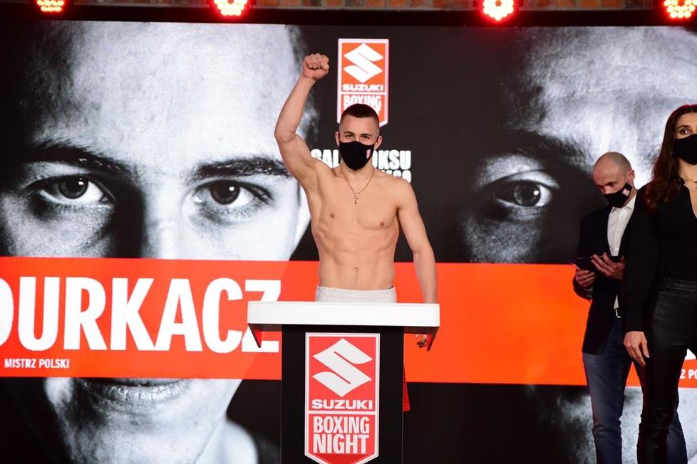 Ceremonia ważenia przed Suzuki Boxing Night V w Lublinie [GALERIA]