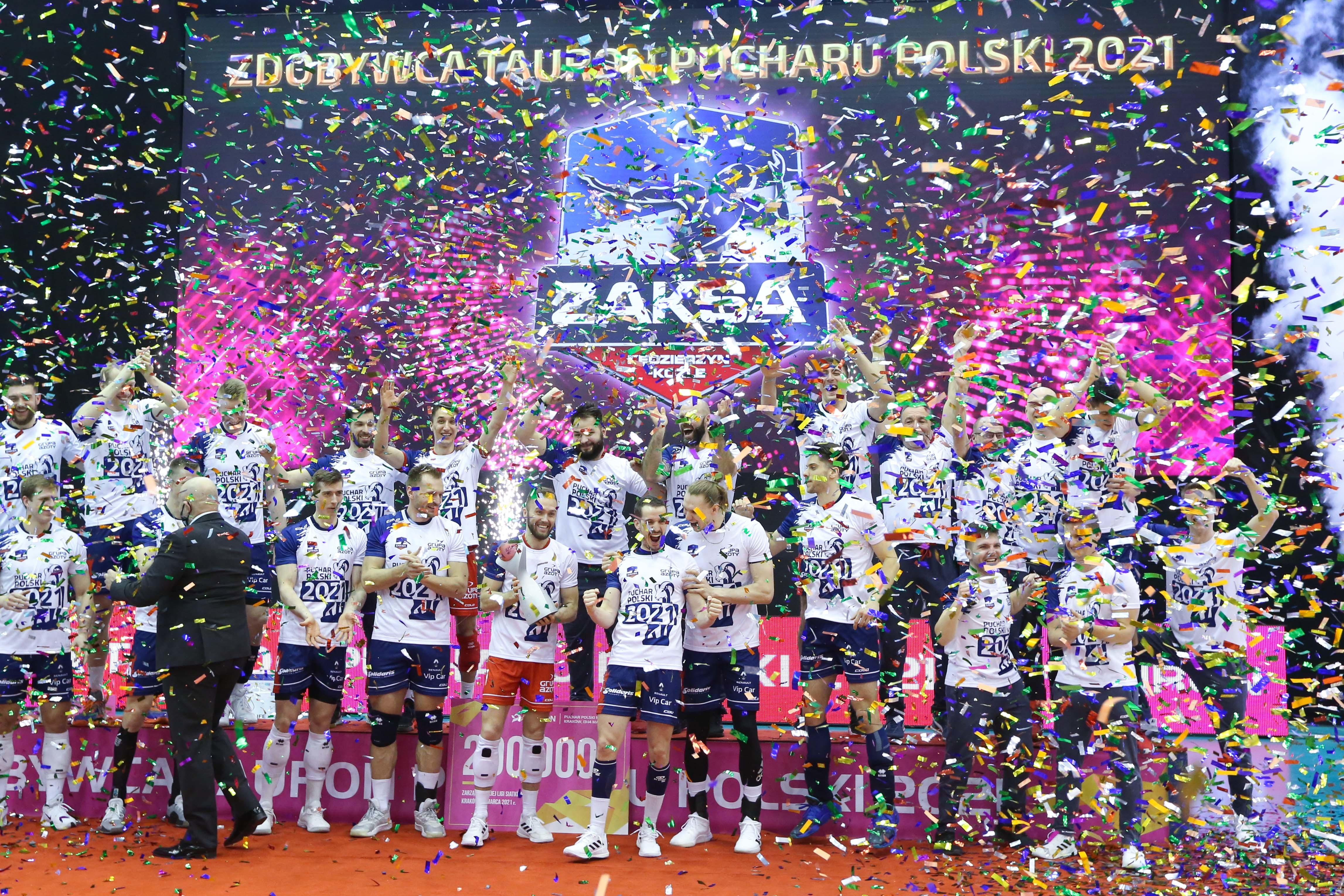 Tauron Puchar Polski 2021: Ceremonia dekoracji (galeria)