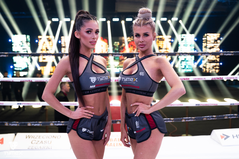 Ring girls gali Tymex Boxing Night 16 [GALERIA]