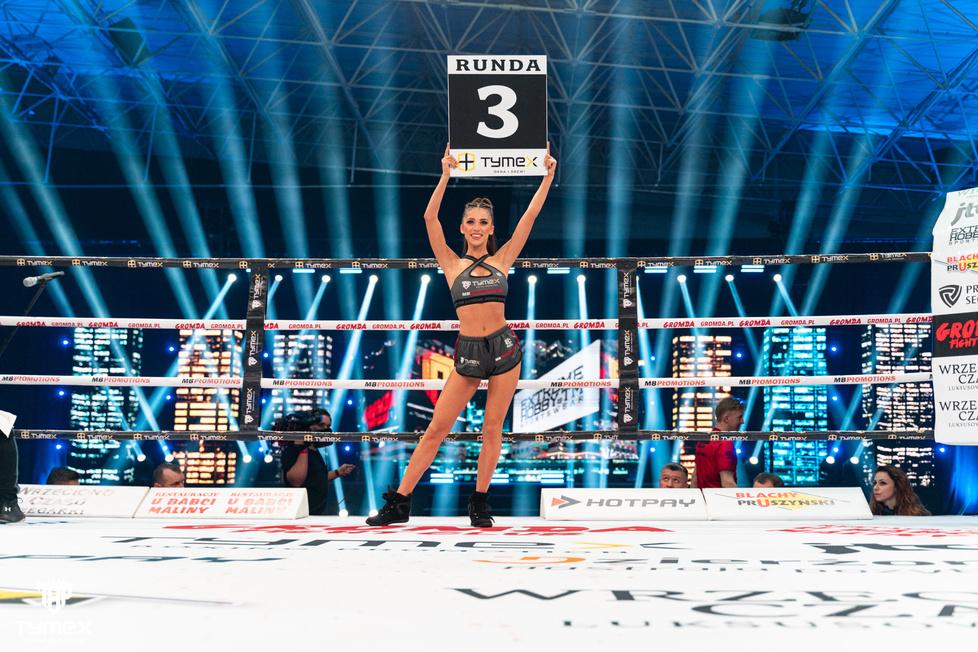 Ring girls gali Tymex Boxing Night 16 [GALERIA]