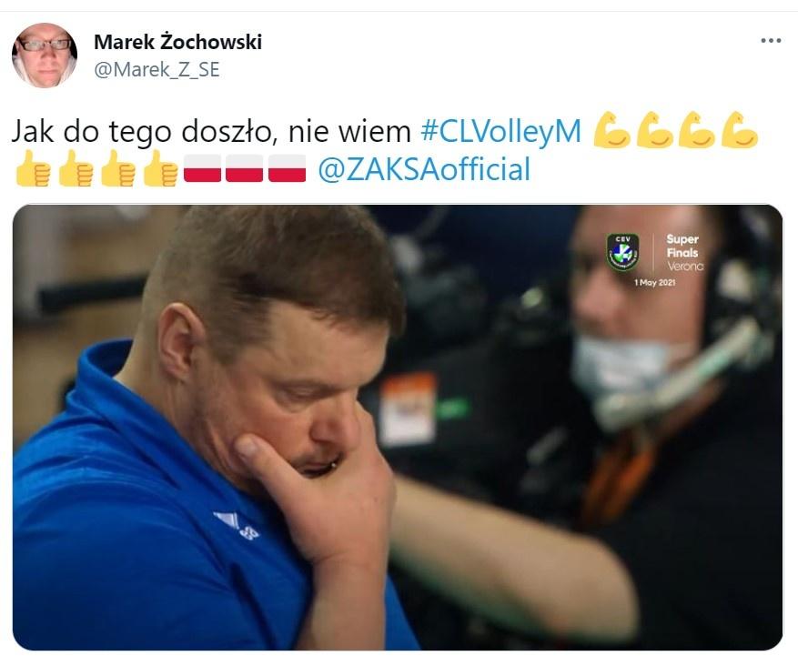 Liga Mistrzów: Zenit Kazań obejrzy finał w telewizji. Memy po zwycięstwie Grupy Azoty ZAKSY Kędzierzyn-Koźle