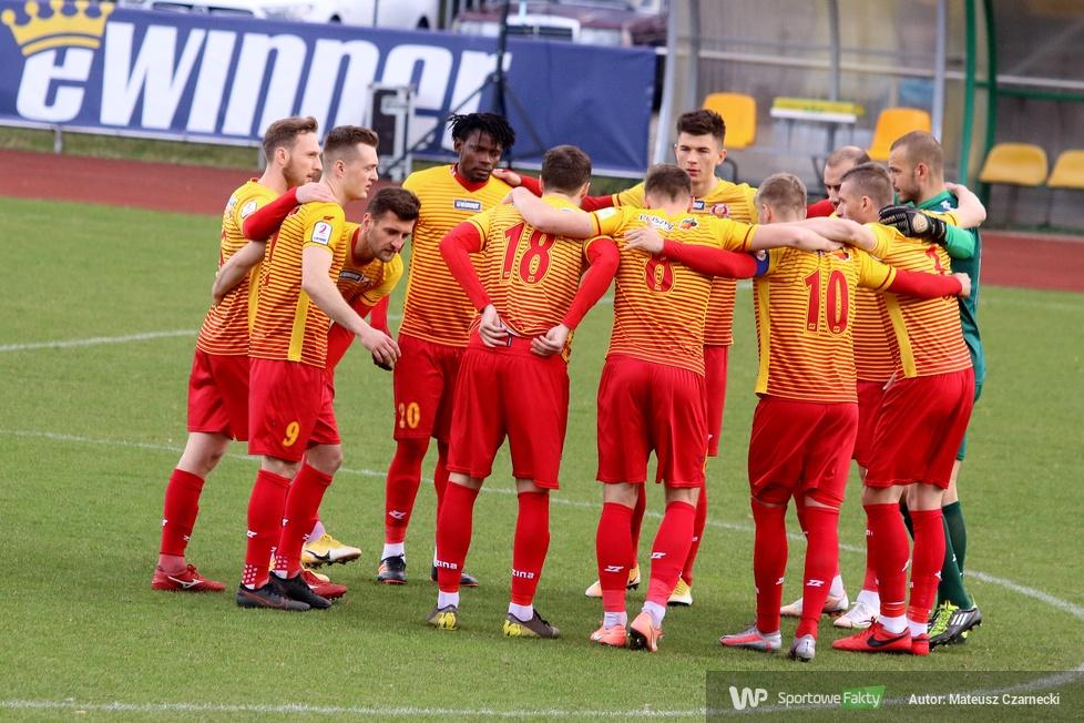 II liga: Znicz Pruszków - GKS Katowice 1:0 (galeria)