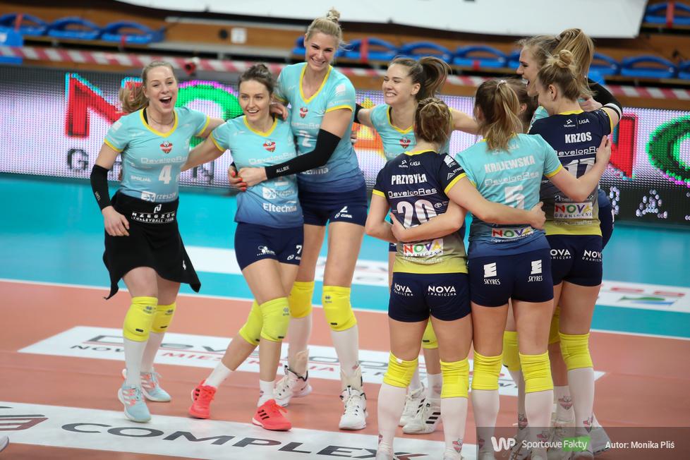 TAURON Liga: 1. mecz finałowy: Developres Sky Res Rzeszów - Grupa Azoty Chemik Police 3:2 (galeria)